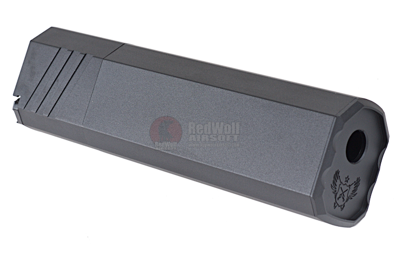SilencerCo Osprey 45-K Suppressor (14mm CW) - BK