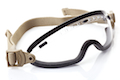 Smith Optics Boogie Sport Asian Fit (Tan Strap) - Clear