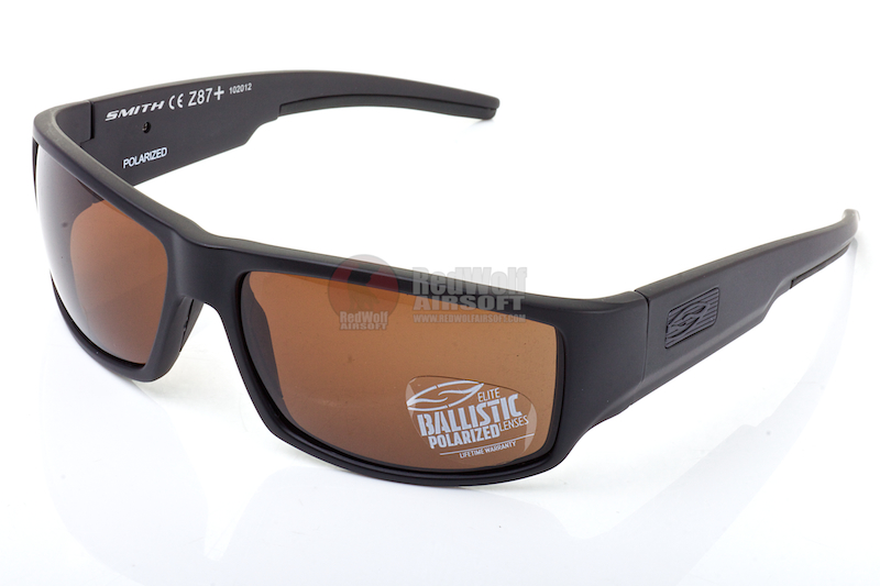 Smith Optics Tactical Lifestyle Sunglasses Lockwood (Polarized) - Brown  <font color=yellow>(November Deals)</font>
