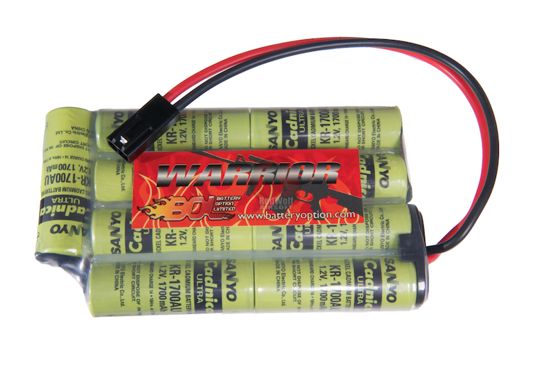 Sanyo 10.8v 1700mah battery for ICS PEQ (MA-29) Battery Box