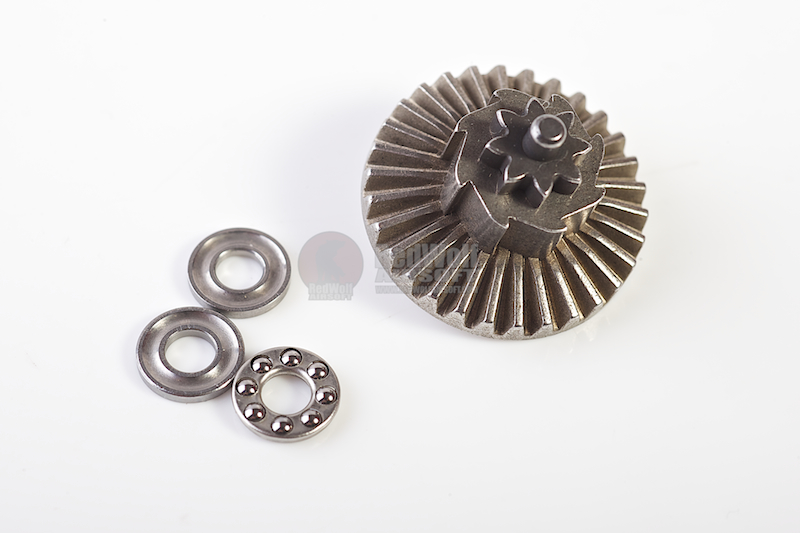 G&P Super Torque Up Bearing Bevel Gear (8T) for Tokyo Mauri ver 2/3/6/7 GearboxG&P