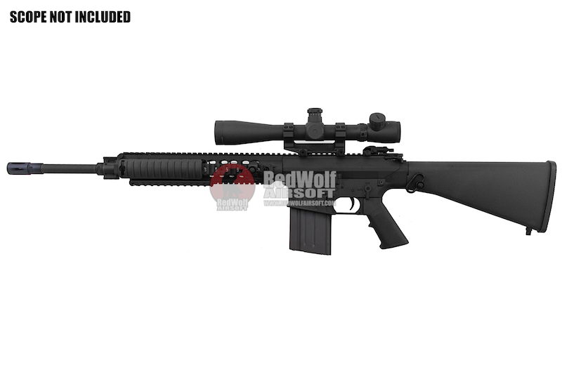 ARES SR25-M110 Sniper Rifle (Electric Fire Control System Version) - Black (Licensed by Knight's)