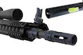 ARES SR25-M110K Sniper Rifle (Electric Fire Control System Version) - Black (Licensed by Knight's)