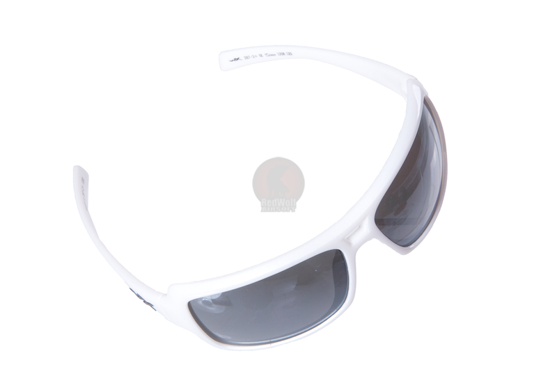 Wiley X Static Silver Flash Lens / Pearl White Frame