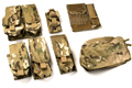 PANTAC Molle Pouches Set Basic Version (Cordura / Crye Precision Multicam)