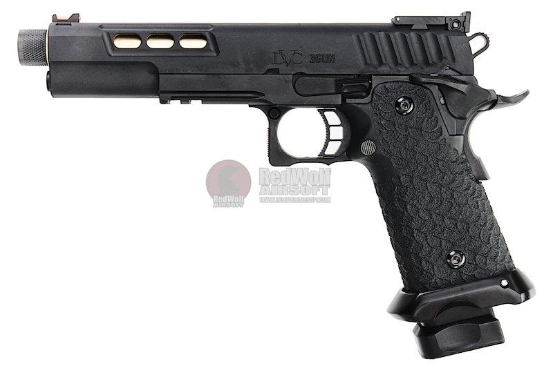 EMG / STI International DVC 3-GUN 2011 GBB Pistol (Threaded Barrel Version)