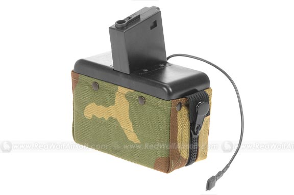 MAG M16 Cartridge Pouch ( Woodland Camo) (2800rds)