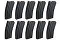 ARES 30rds M16 Series Magazine Set (10 Pack) - Black