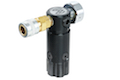 Wolverine Airsoft HPA Systems STORM Regulator OnTank with Remote line - Black
