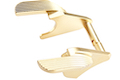 Airsoft Masterpiece Steel Thumb Safeties - SV ver.2 for Tokyo Marui Hi-Capa / 1911 GBB - Gold