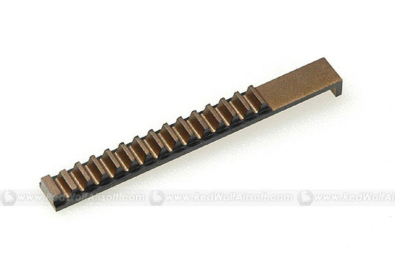 Systema Steel Piston Rack Gear for Systema PTW