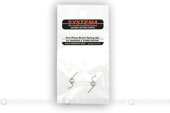 Systema Two Piece Brush Spring Set for Magnum & Turbo Motors <font color=red>(Clearance)</font>