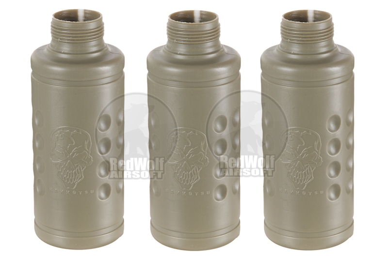 Hakkotsu Thunder Shocker package for 3pcs (Shell with main core)