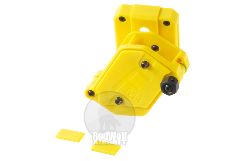 FMA Multi Angle Speed Mag Pouch fit 1.5 inch Belt (Yellow)