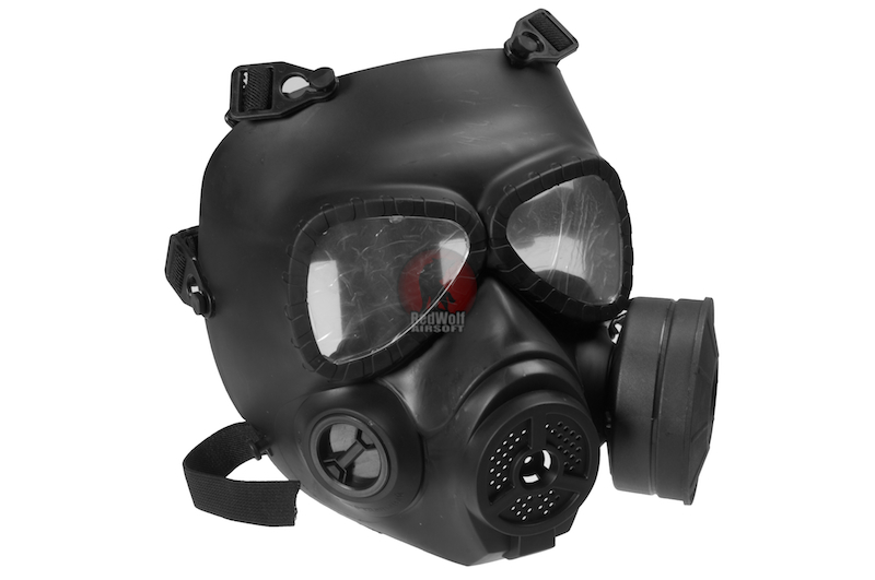 FMA Sweat Prevent Mist Fan Mask - BK