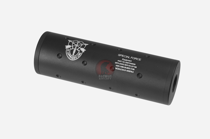 FMA Special Force CW/CCW 14mm Silencer (107mm)