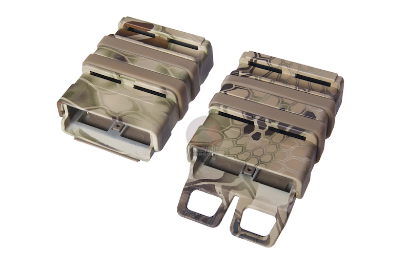 FMA Water Transfer FAST Magazine Holster Set highlander for 5.56 Magazines - Kryptec