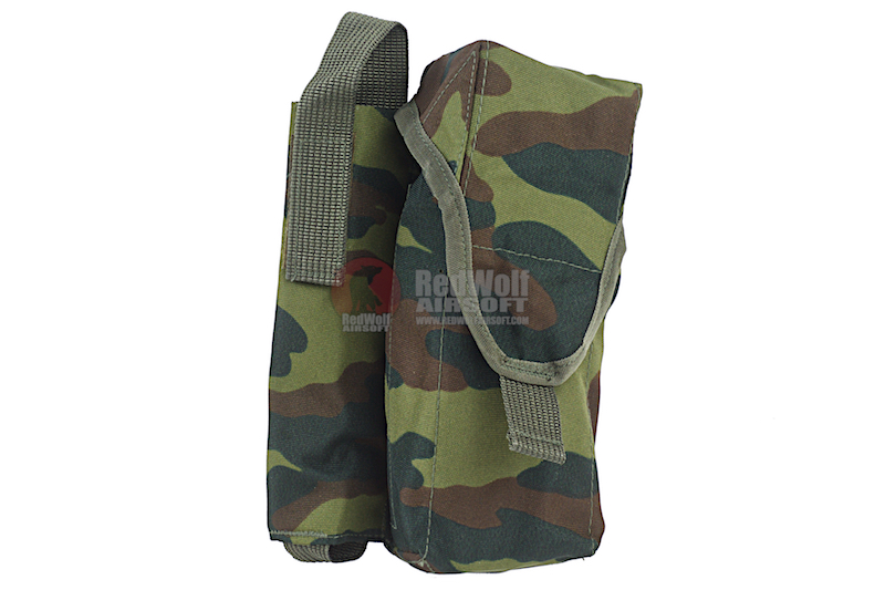 Technikom Molle Pouch for 2 AK Magazines and ROP (Right) Flora