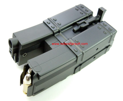 Tokyo Marui 240rd Shorty Dual Magazine for NP5K / PDW