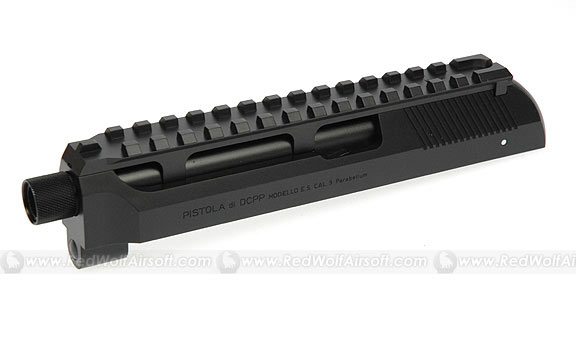 Tokyo Marui Mount Rail w/ 14mm Threaded Barrel Tip (CCW) for M93R AEP