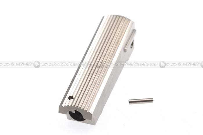 Nova Housing for Marui 1911A1 - Type 1 (Serrated) - Stainless