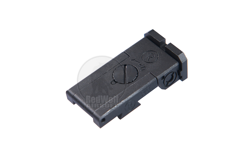 Nova Steel Rear Sight for Hi-CAPA 5.1 (BoMar)