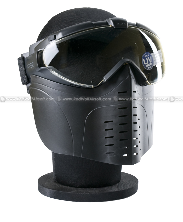 Tokyo Marui Pro Mask Goggle with fogless fan (Blk)