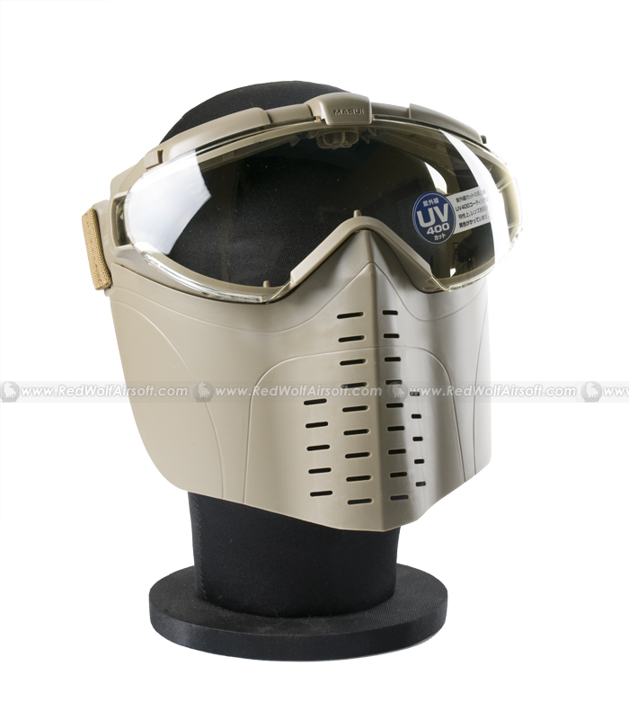 Tokyo Marui Pro Mask Goggle with fogless fan (Coyote Brown)