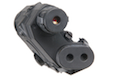 TMC AN/PEQ-15 Battery Case With Red Laser Sight (BK)