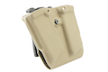 TMC W&T Kydex Double Magazine Pouch for G17 GBB - Khaki