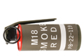 TMC M18 Smoke Grenade B.B. Can (Red)
