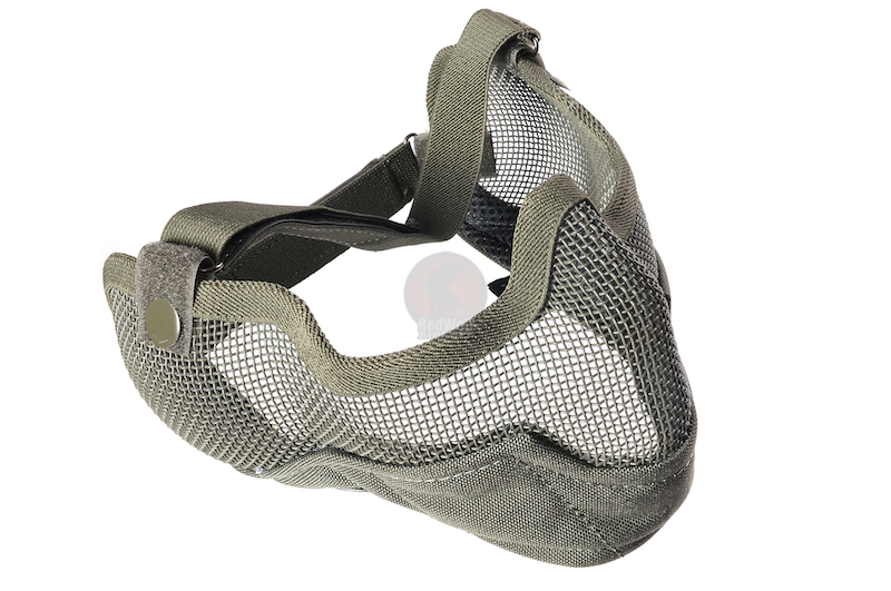 TMC V2 Strike Metal Mesh Half Face Mask (RG)