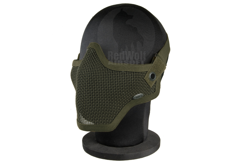 TMC V1 Strike Steel Half Face Mask (Tan)