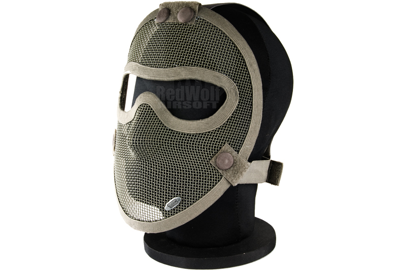 TMC Strike Mesh Full Face Mask (RG)