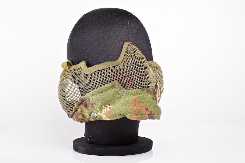 TMC V2 Strike Metal Mesh Half Face Airsoft Mask ( Vegetata ) <font color=yellow>(Clearance)</font>