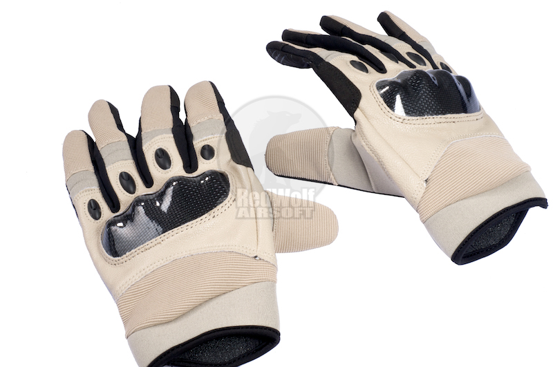 TMC Tactical Gloves (Khaki / Large) <font color='red'>(Blowout Sale)</font>