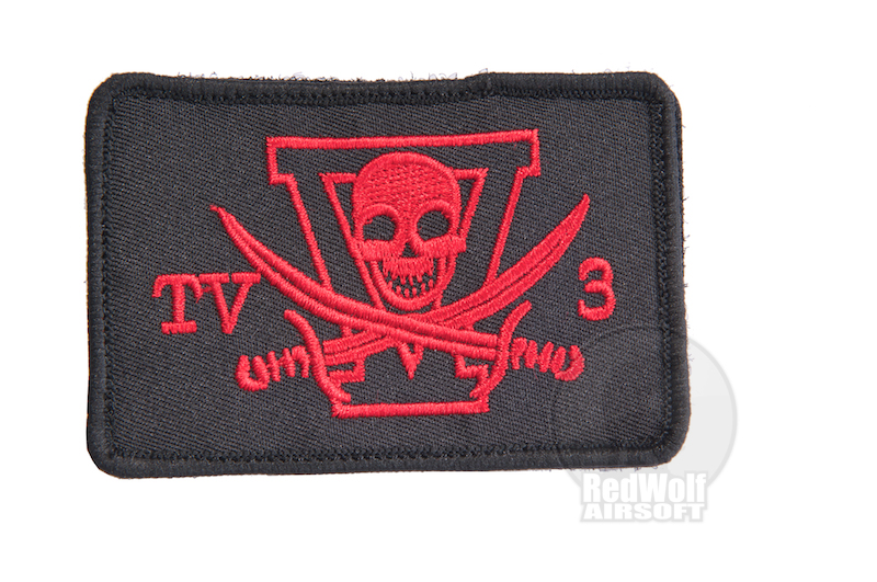 TMC NSW Velcro Patch (Black)