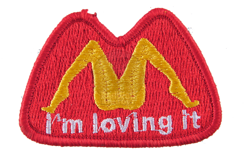 TMC I'm loving it Patch (RED)