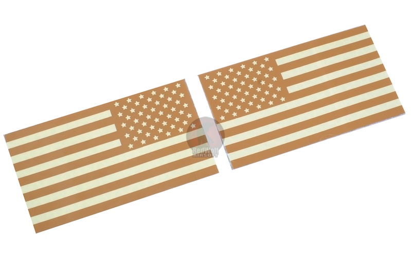TMC USA FLAG Reflective PVC IR Patch Set (TAN)