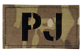 TMC PJ Infra Red Call Sign Patch Multicam