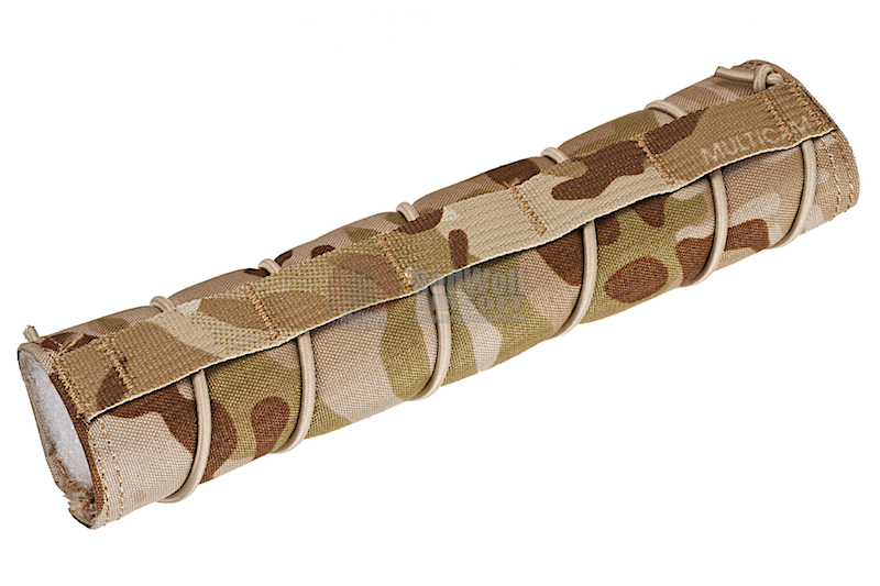 TMC 22cm Airsoft Suppressor Cover - Multicam Arid