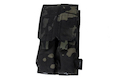 TMC MP7A1 Double Magazine Pouch - Multicam Black