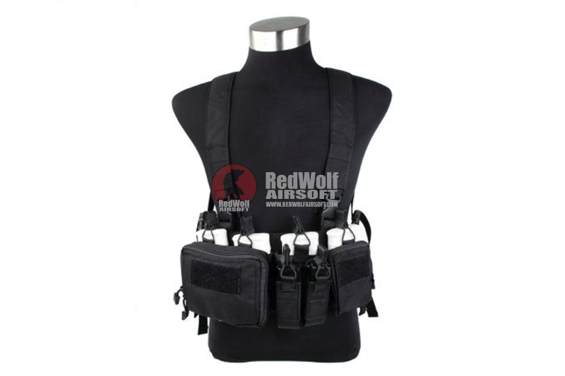 TMC 762 Chest Rig - Black
