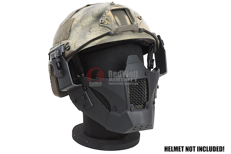 TMC JAY FAST Airsoft Mask (Black)