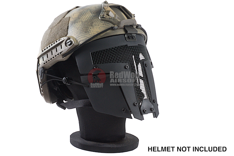 TMC SPT Mesh Airsoft Mask - Black