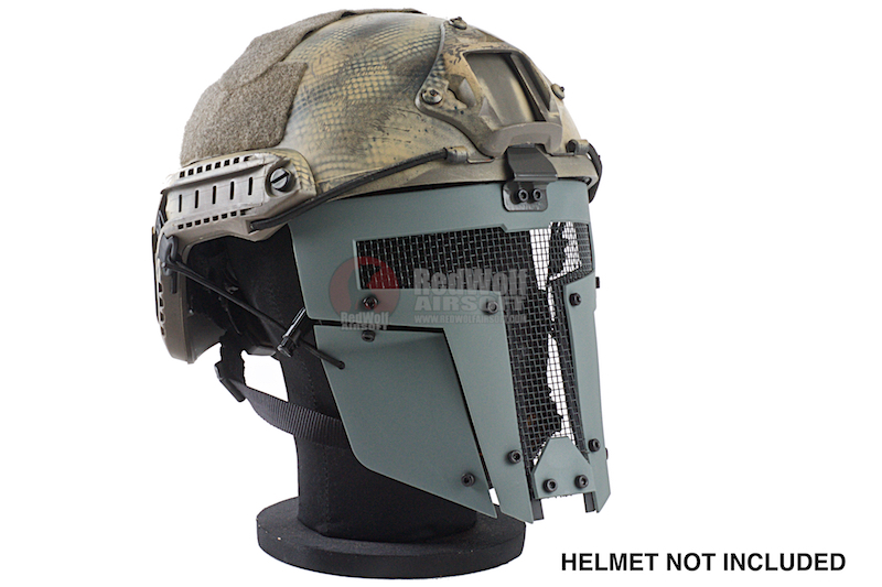 TMC SPT Mesh Airsoft Mask - Wolf Grey