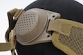 TMC Mesh Mask with Ear Cover - Khaki