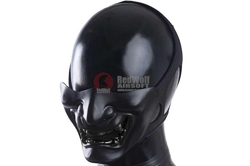 TMC Samurai Mask (M Size / Full Black)