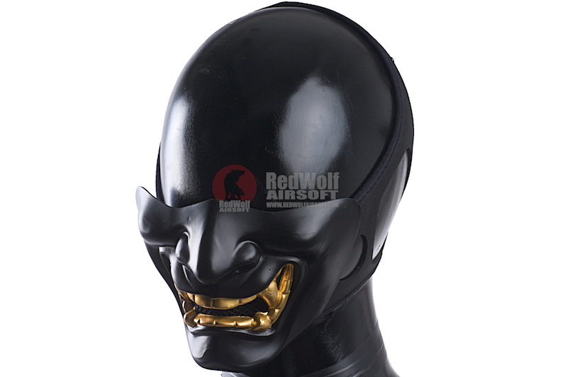 TMC Samurai Mask (L Size / Partial Golden)