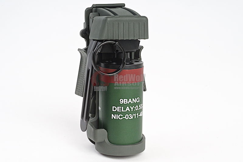 TMC Flashbang Grenade Pouch w/ Dummy BB Can - OD